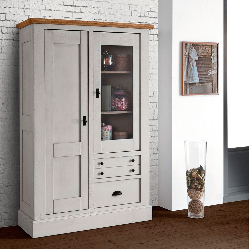 vitrine 2 portes romance meubles fouillard. Black Bedroom Furniture Sets. Home Design Ideas