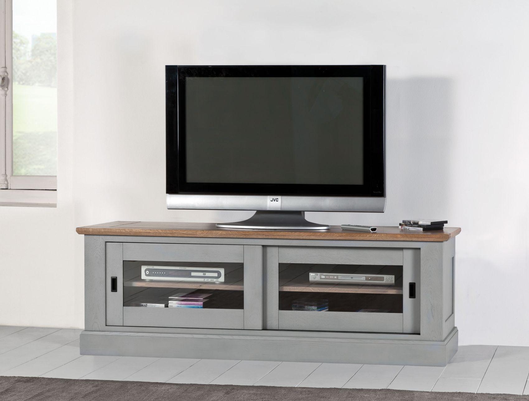 Meuble tv romance meubles fouillard - Meuble tv miroir ...