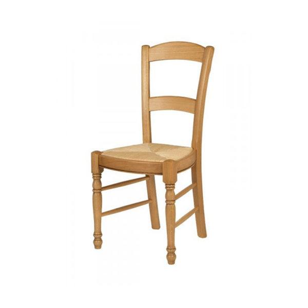 chaises chene dossier double barre droite meubles fouillard. Black Bedroom Furniture Sets. Home Design Ideas