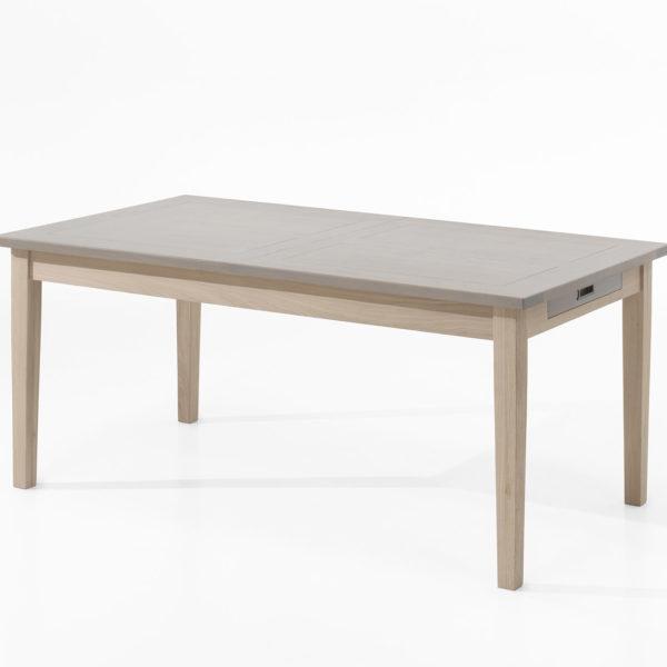 table de sejour rectangulaire porquerolles meubles fouillard. Black Bedroom Furniture Sets. Home Design Ideas